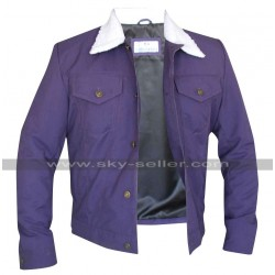 Scott Eastwood Longest Ride Luke Collins Fur Collar Jacket