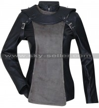 Franky Cook Sky Captain and World of Tomorrow Leather Jacket