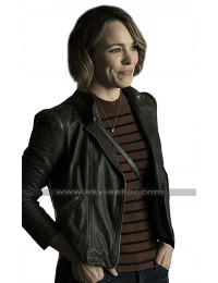 Game Night Rachel McAdams (Annie) Black Leather Jacket