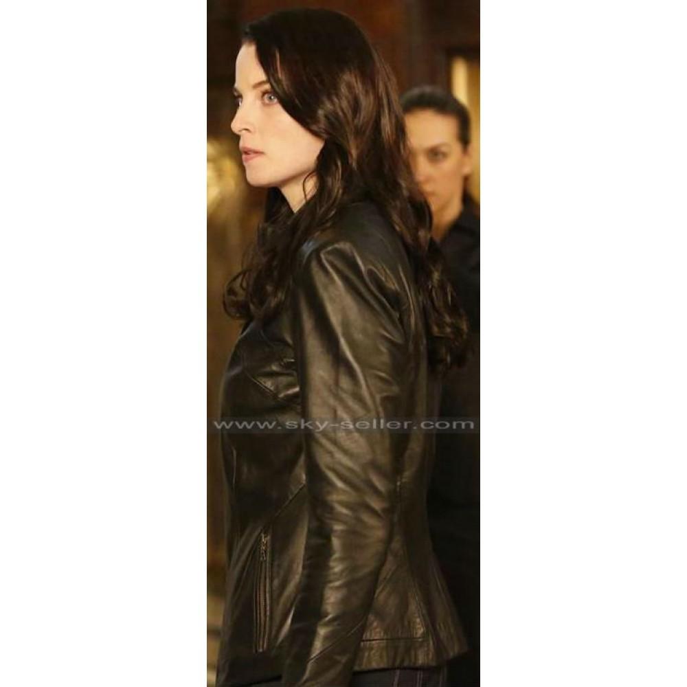 Continuum Kiera Cameron Black Leather Jacket