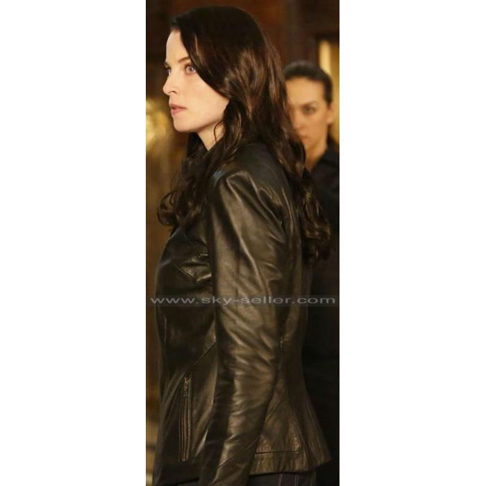 Continuum Kiera Cameron Black Leather Jacket