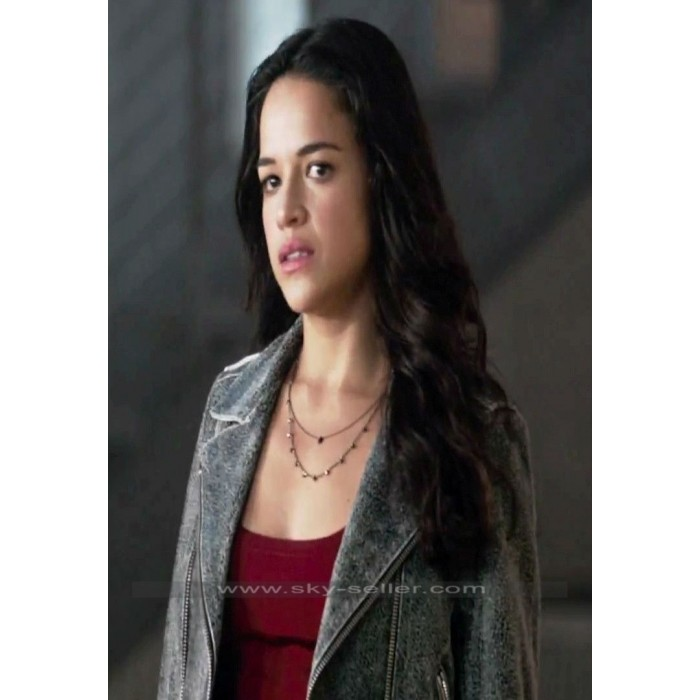 Furious 7 Michelle Rodriguez (Letty Ortiz) Leather Jacket