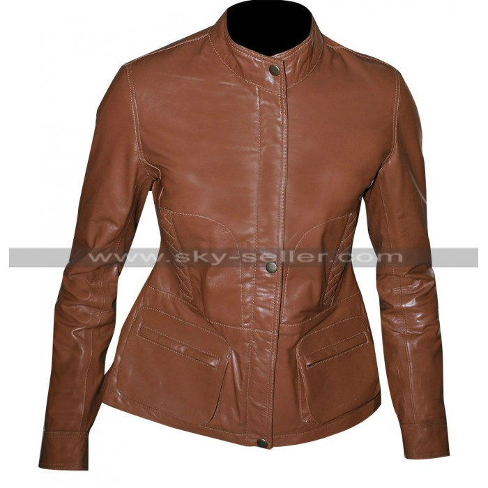 Mariska Hargitay Law & Order Olivia Benson Leather Jacket