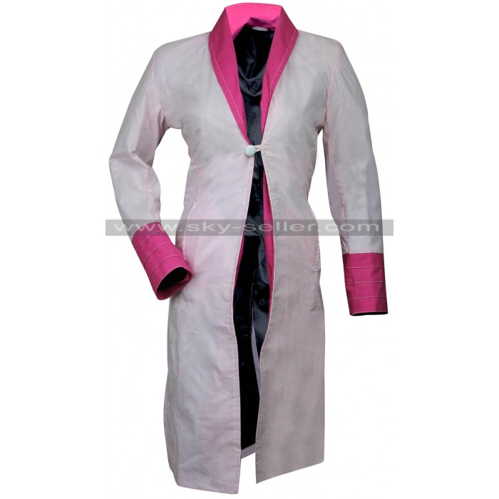 Alison Sudol Fantastic Beasts Queenie Goldstein Pink Coat