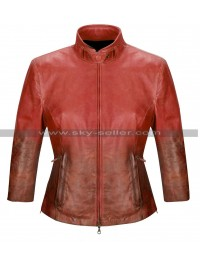 The Avengers Age of Ultron Scarlet Witch (Elizabeth Olsen) Red Jacket