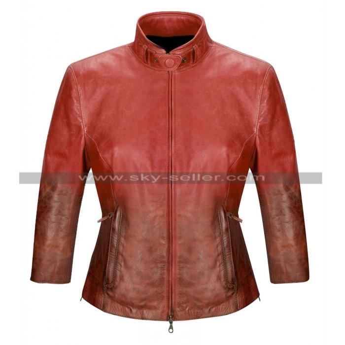 The Avengers Age of Ultron Scarlet Witch (Elizabeth Olsen) Red Jacket