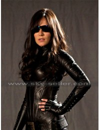 G.I Joe Rise of Cobra Sienna Miller (Baroness) Black Costume Jacket