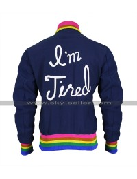 I'm Tired Taika Waititi Varsity Bomber Women Jacket