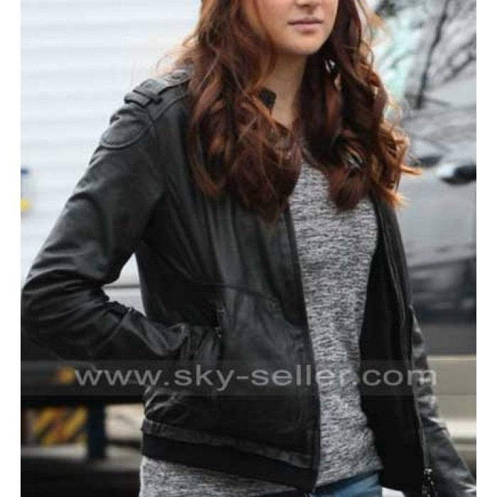 The Amazing Spider Man Shailene woodley Leather Jackets