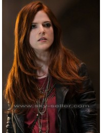 The Last Witch Hunter Rose Leslie (Chloe) Motorcycle Jacket