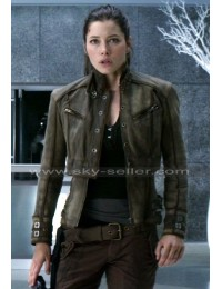 Total Recall Jessica Biel (Melina) Leather Jacket