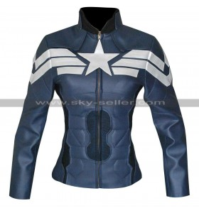 Winter Soldier Captain America Ladies Jacket