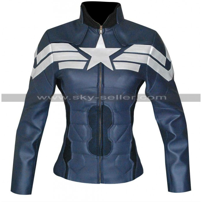 Winter Soldier Captain America Ladies Jacket