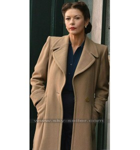 Dad's Army Catherine Zeta-Jones (Rose Winters) Trench Coat