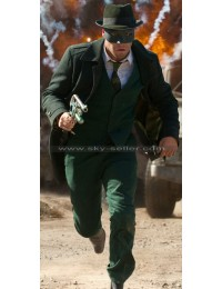 Green Hornet Seth Rogen Long Wool Coat
