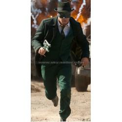Green Hornet Seth Rogen Long Wool Coat