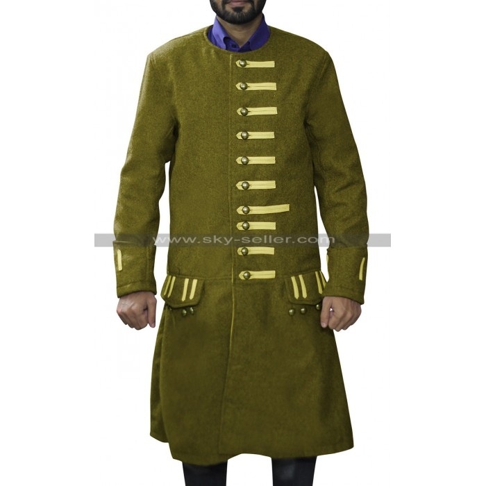 Pirates of the Caribbean 3 Jack Sparrow Frock Wool Coat