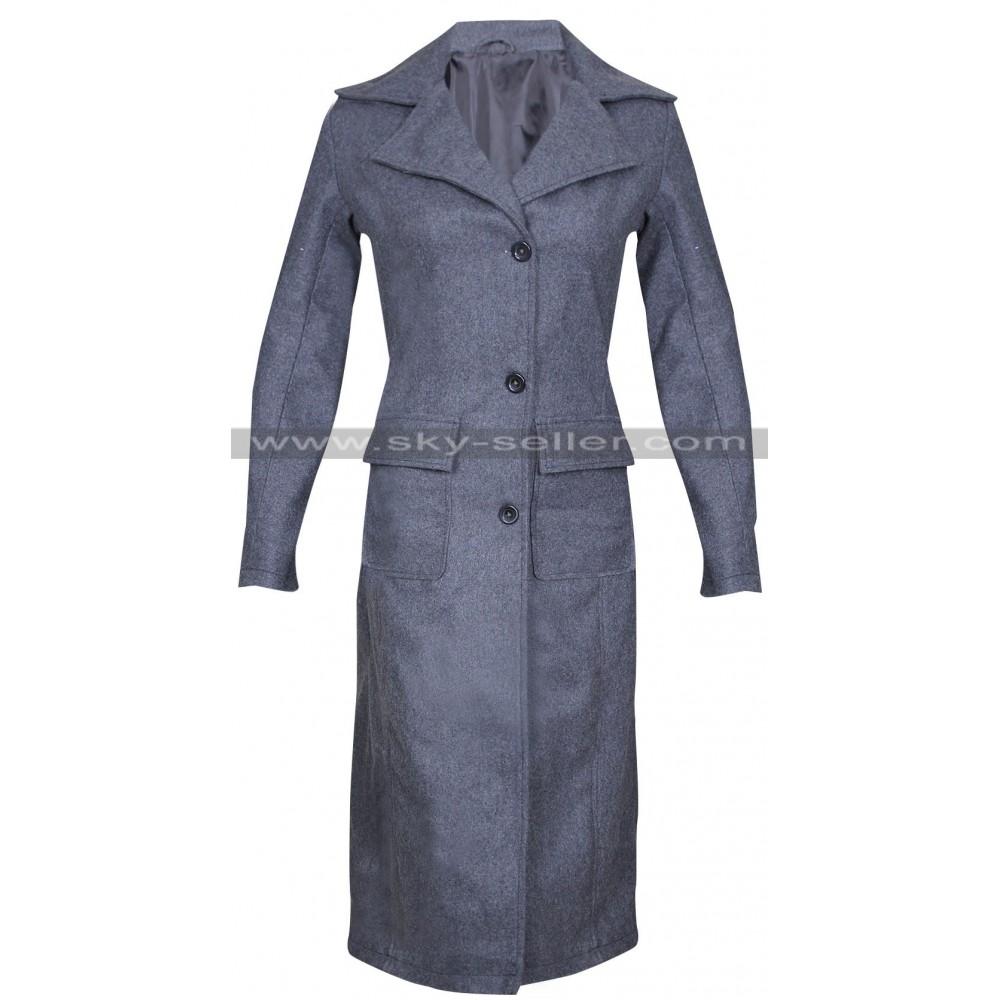 Tina Goldstein Fantastic Beasts Katherine Waterston Wool Coat