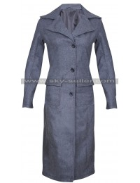 Tina Goldstein Fantastic Beasts Katherine Waterston Wool Coat