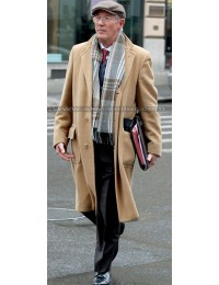 Norman Oppenheimer Brown Wool Trench Coat