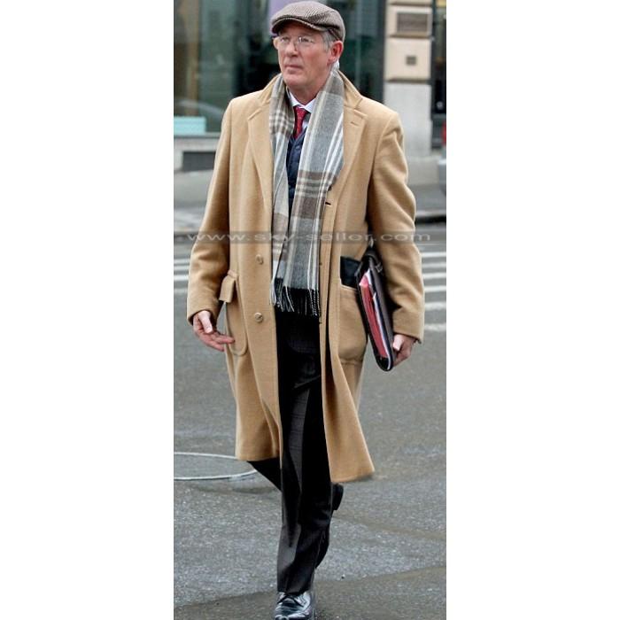 Norman Oppenheimer Brown Wool Trench Coat