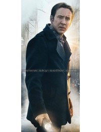 Pay the Ghost Nicolas Cage (Mike Lawford) Breasted Coat
