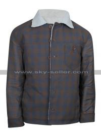 Ryan Gosling Nice Guys Los Angeles Set Fur Jacket