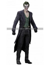 The Joker Batman Arkham Origins Trench Coat