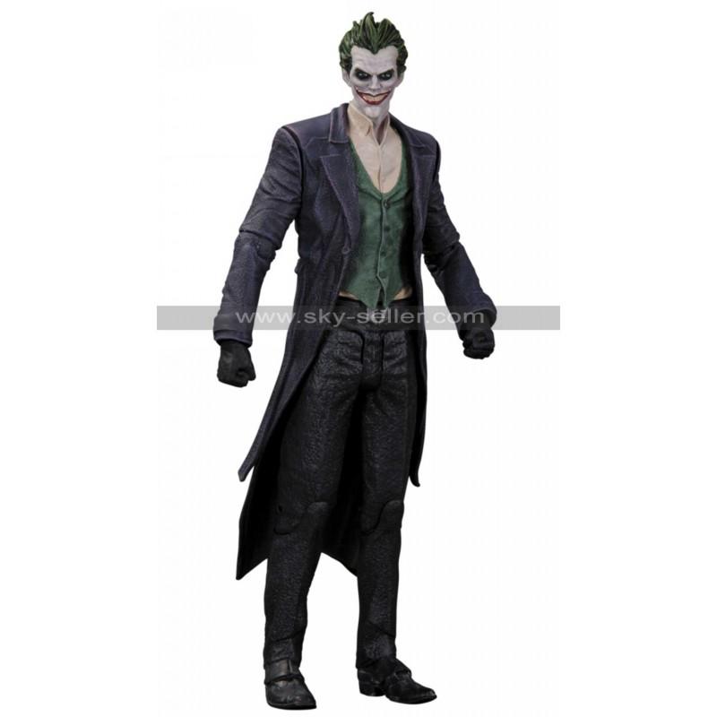 sc 1 st  Sky-Seller & The Joker Batman Arkham Origins Trench Coat