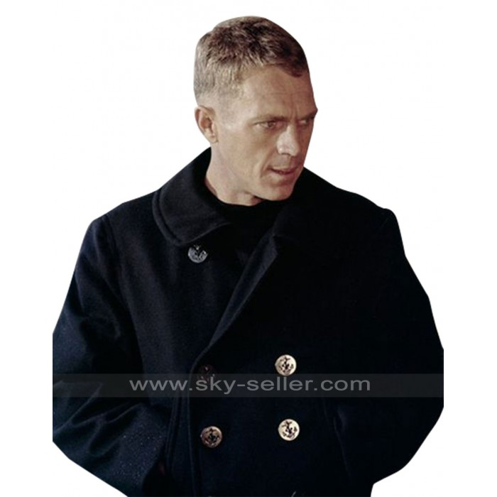 The Sand Pebbles Steve McQueen Peacoat Jacket