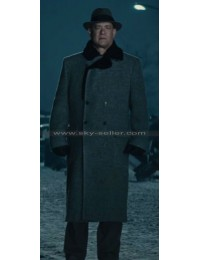 Tom Hanks Bridge of Spies James Donovan Fur Collar Coat