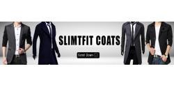 Slim Fit Coats