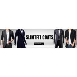 Slim Fit Coats