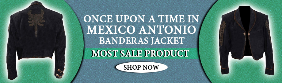Once Upon a Time in Mexico Jacket