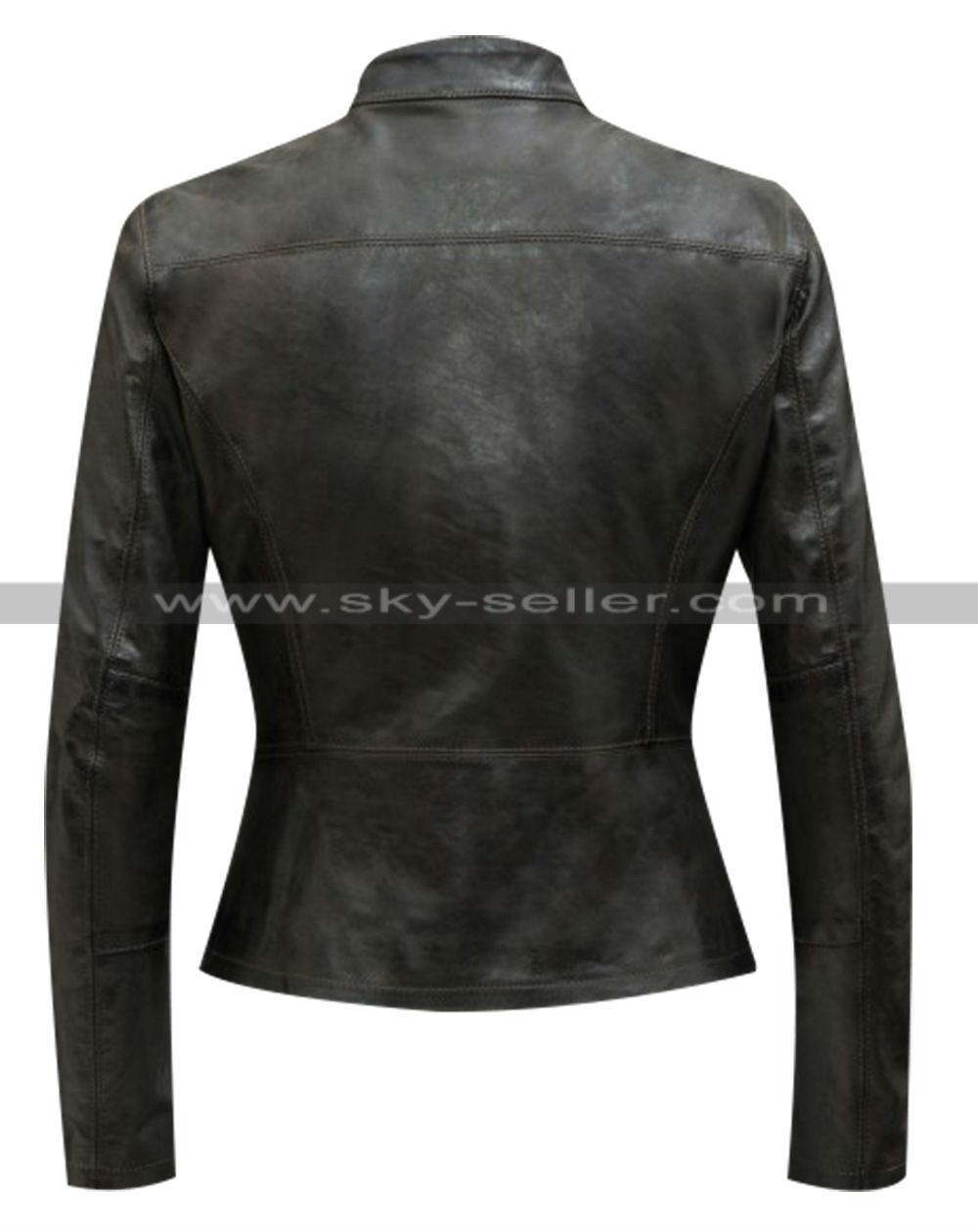 force leather jacket: